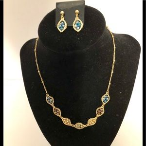 Jewelry - Multi-Color Necklace & Earrings Set